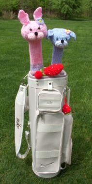 毛糸玉ゴルフ、アメリカから手編みのゴルフ関連の色々グッズをお届けします。